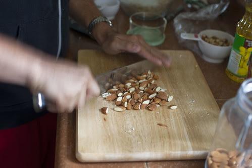 granola making, resumed!