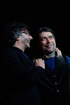 Fito Páez y Joaquín Sabina siguen compartiendo su pasión, la música.<br>Foto: Especial para El País