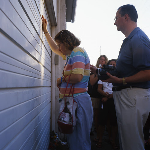 Virgin Mary Appears on Garage Door, Minersville III