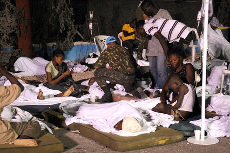 Campaña de Recolección de Víveres para Haití