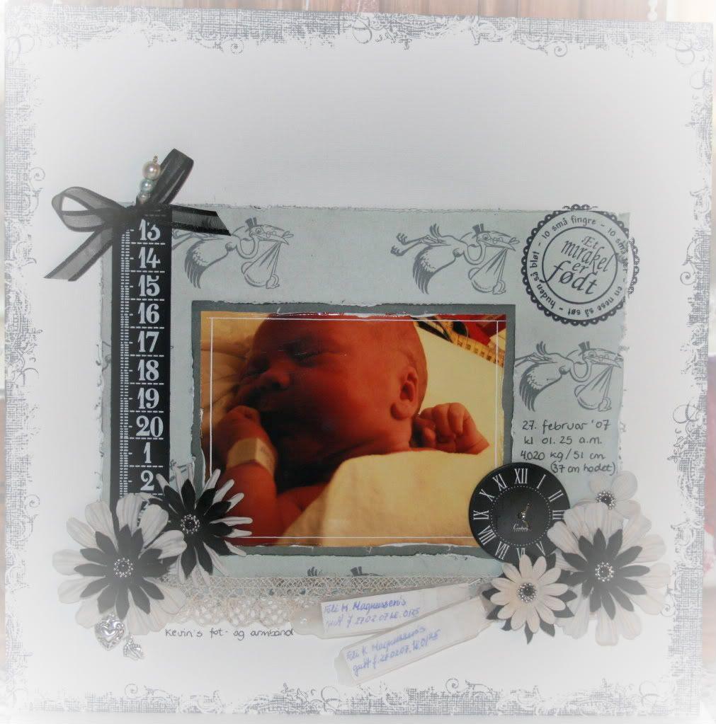 LO av nyfødt Kevin ♥