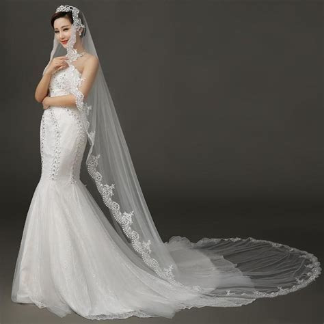Your guide for choosing best wedding dress veil