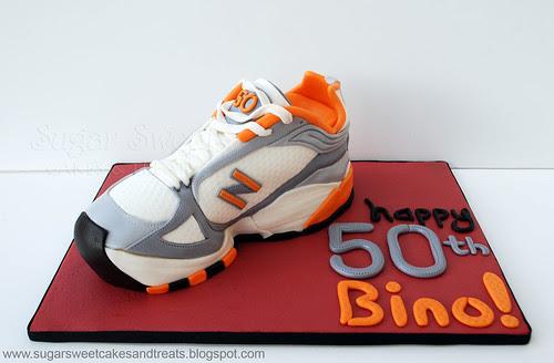 Sneaker Running Shoe Cake