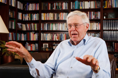 Charles Koch in 2012. The Kochs and their advisers have built a robust array of political organizations.