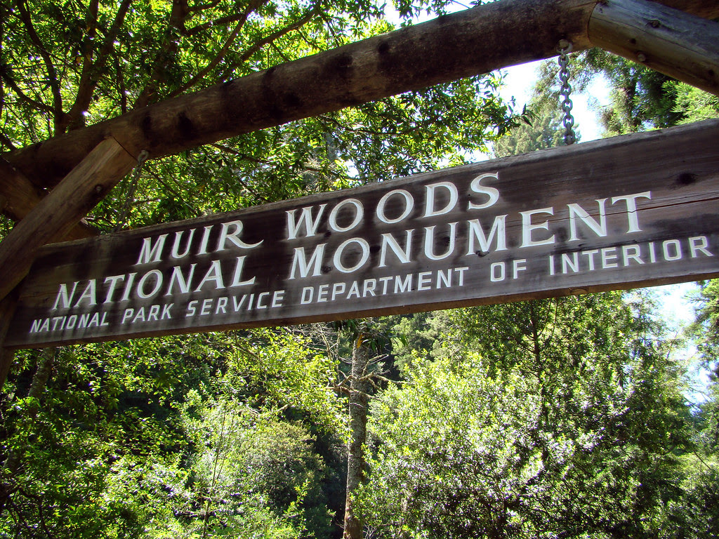 DSC06759 Muir Woods National Monument sign