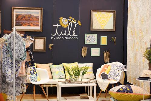 Quilt Market - Leah Duncan's Booth by Jeni Baker