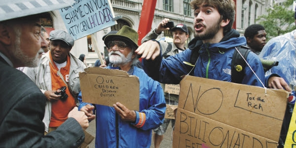Intellectual Roots of 'Occupy Wall Street' Lie in Academe 1