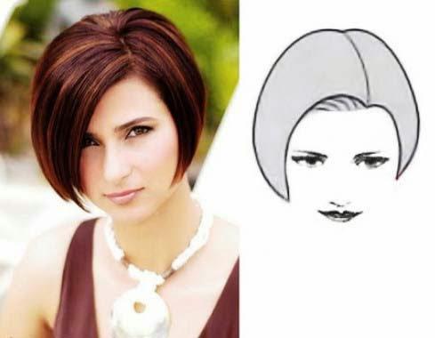 cat toc nu nang cao phan tich hinh dang mau toct 2 Cắt tóc nữ nâng cảo: Phân tích hình dáng mẫu tóc