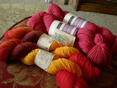 Lorna's Laces and Louet Gems