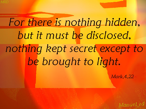 There is nothing hidden