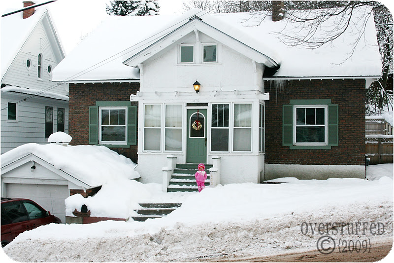 Our humble (and snowy) abode