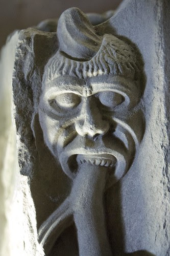 Detail; St Andrews Cathedral by Hilde Kari
