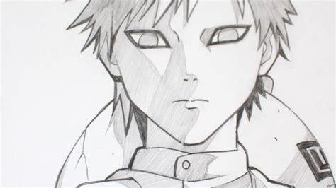 drawing gaara  naruto anime graphite youtube
