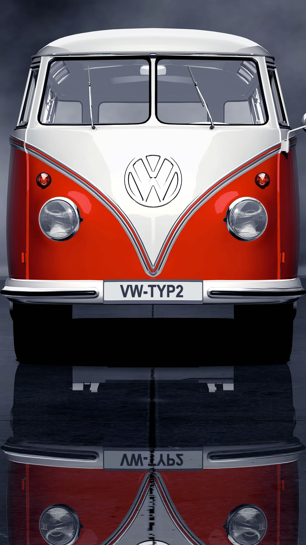 Volkswagen Combi Wallpaper for iPhone X, 8, 7, 6  Free Download on 3Wallpapers