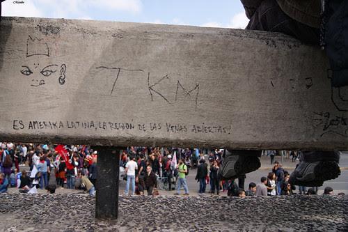 Marcha estudiantil,  22 de Septiembre. by Alejandro Bonilla