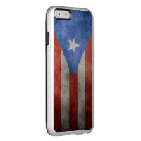Puerto Rico Grunge Flag Incipio Feather® Shine iPhone 6 Case