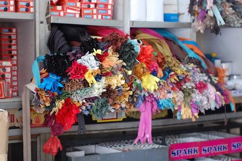 Buying sewing supplies