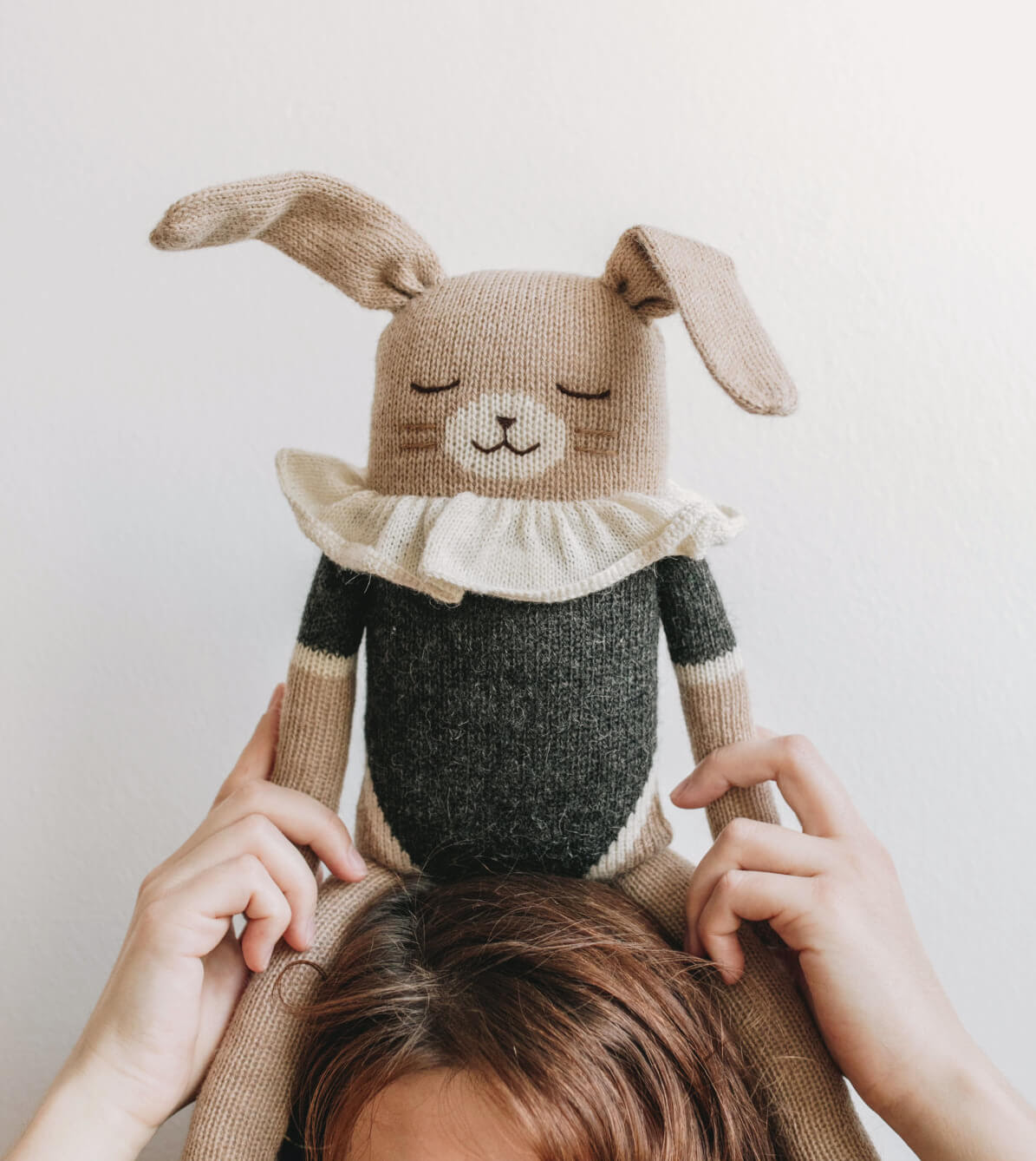 easter bunny knitted