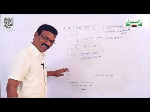 11th Chemistry வாயுநிலைமை அலகு 6 பகுதி 2 Kalvi TV