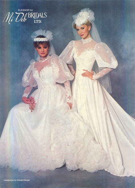 1984 Brides Magazine   Vintage Weddings   Wedding dresses