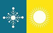 Verano e invierno en lengua de signos