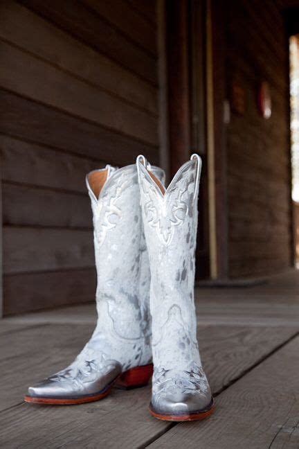 white cowboy boots  wait   wedding white
