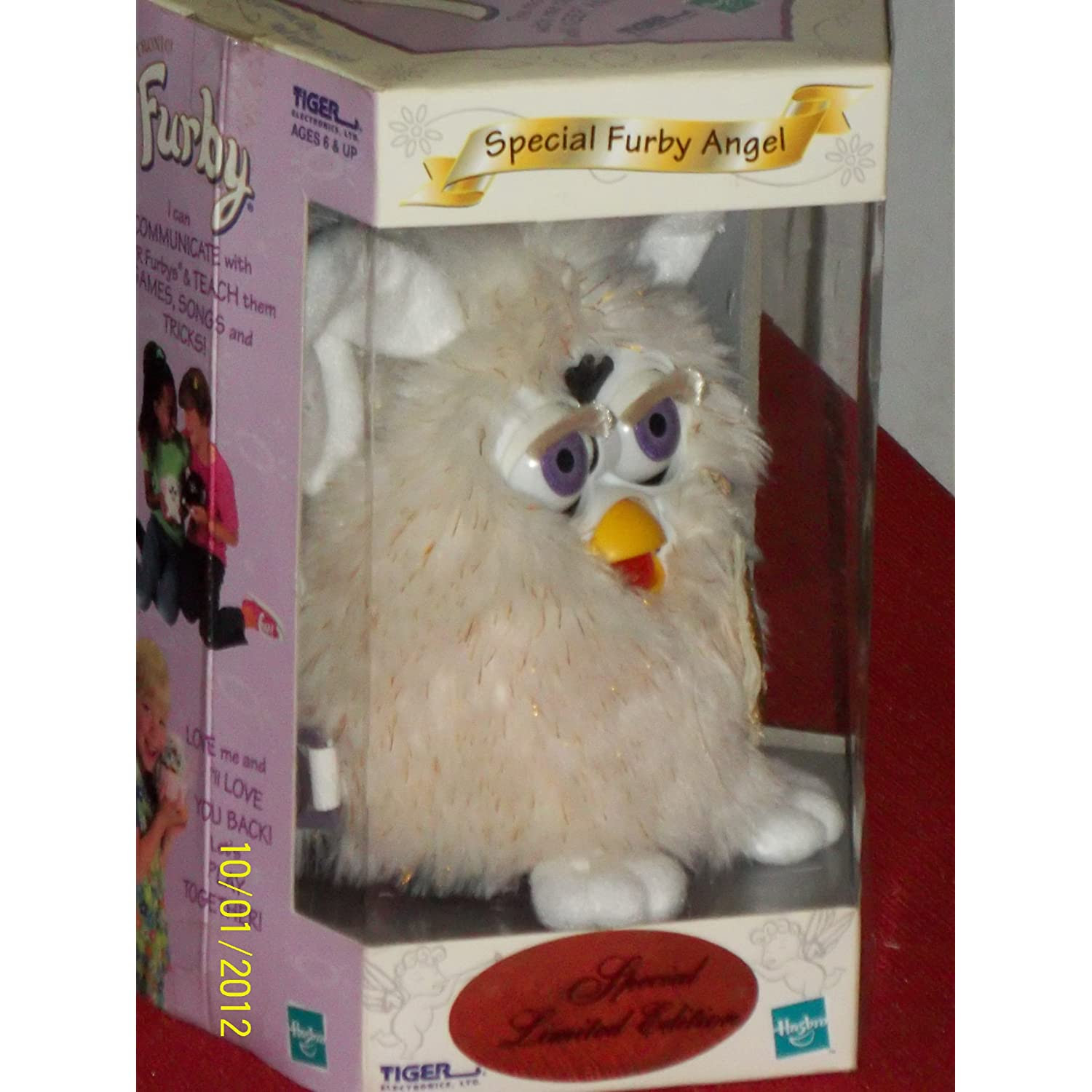 Special Limited Edition Angel Furby