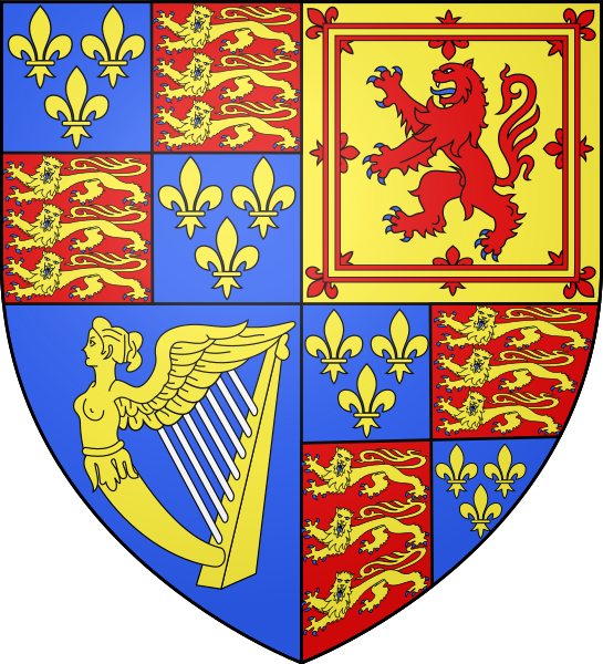 Fitxer:England Arms 1603.svg
