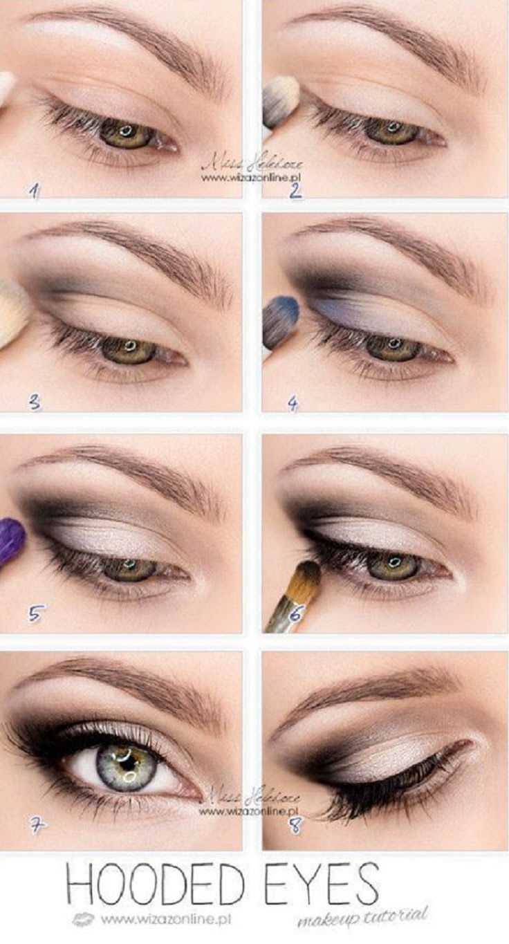 How to Apply Shadow on Hooded Eyes: 13 Steps (with Pictures)