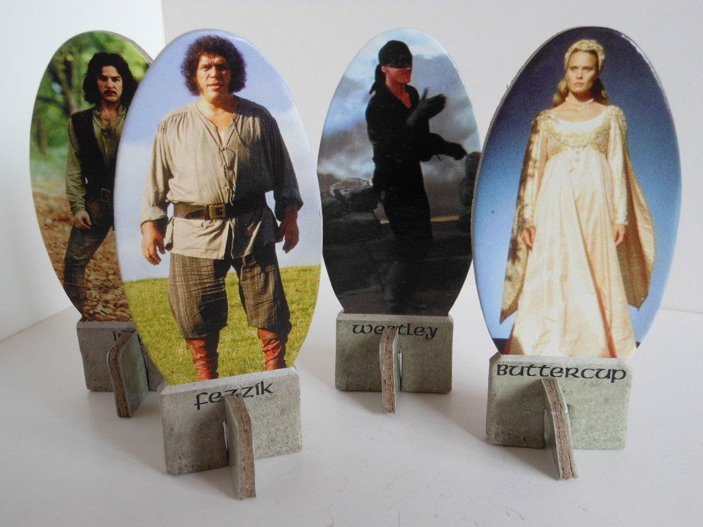 The Princess Bride: Storming the Castle playing pieces