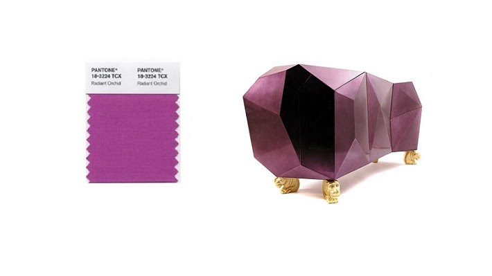 2014 interior design trends: Radiant Orchid is the PANTONE COLOR ...