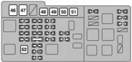 Lexus Rx 300 1999 2003 Fuse Box Diagram Auto Genius