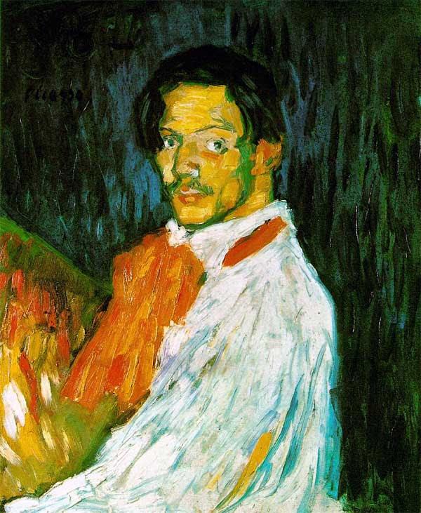 Pablo Picasso Self Portrait: Yo Picasso
