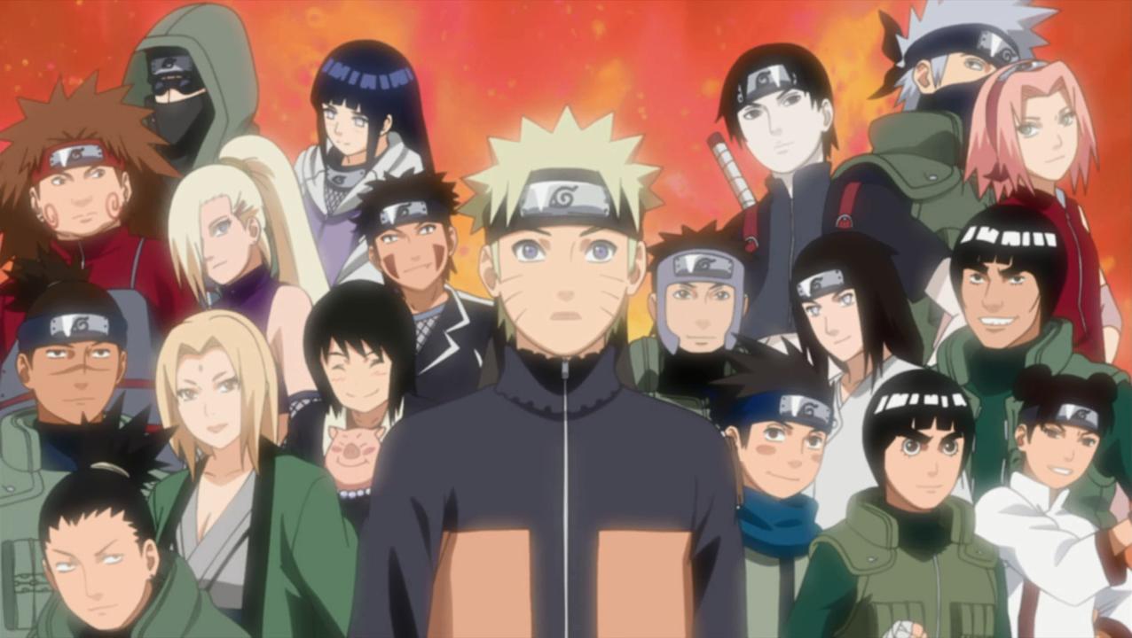 Image  Naruto and friends.png  Naruto Fanon Wiki  Ninjutsu