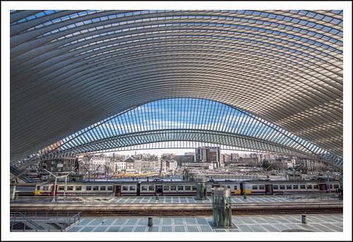 station Luik Guillemins (28) by hans van egdom