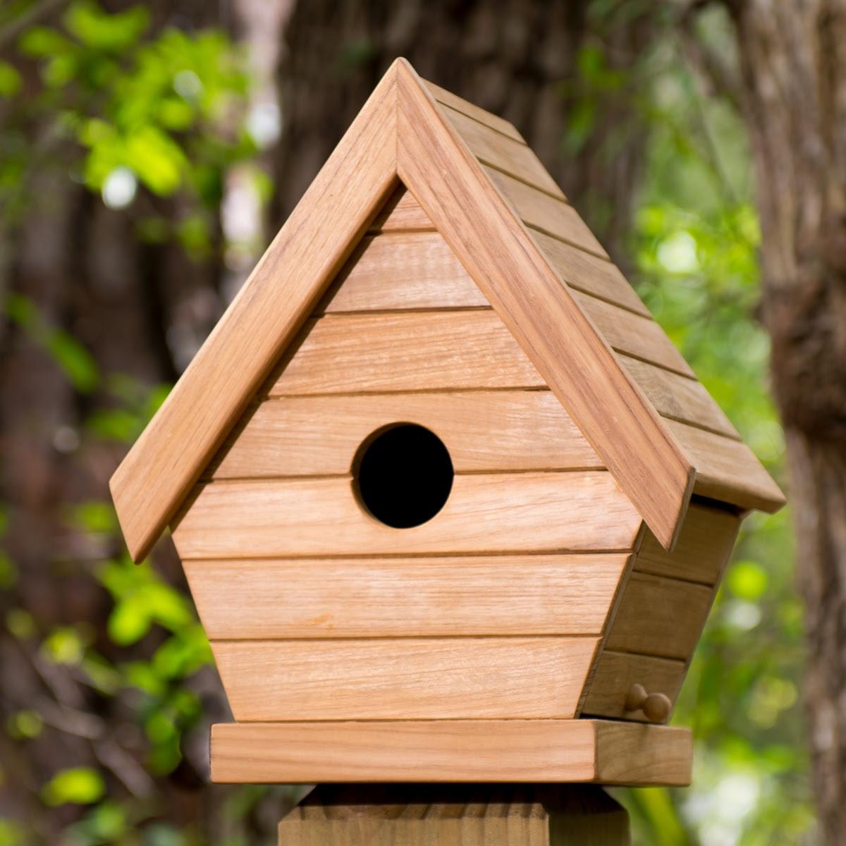 teak bird house Westminster Teak Outdoor Furniture