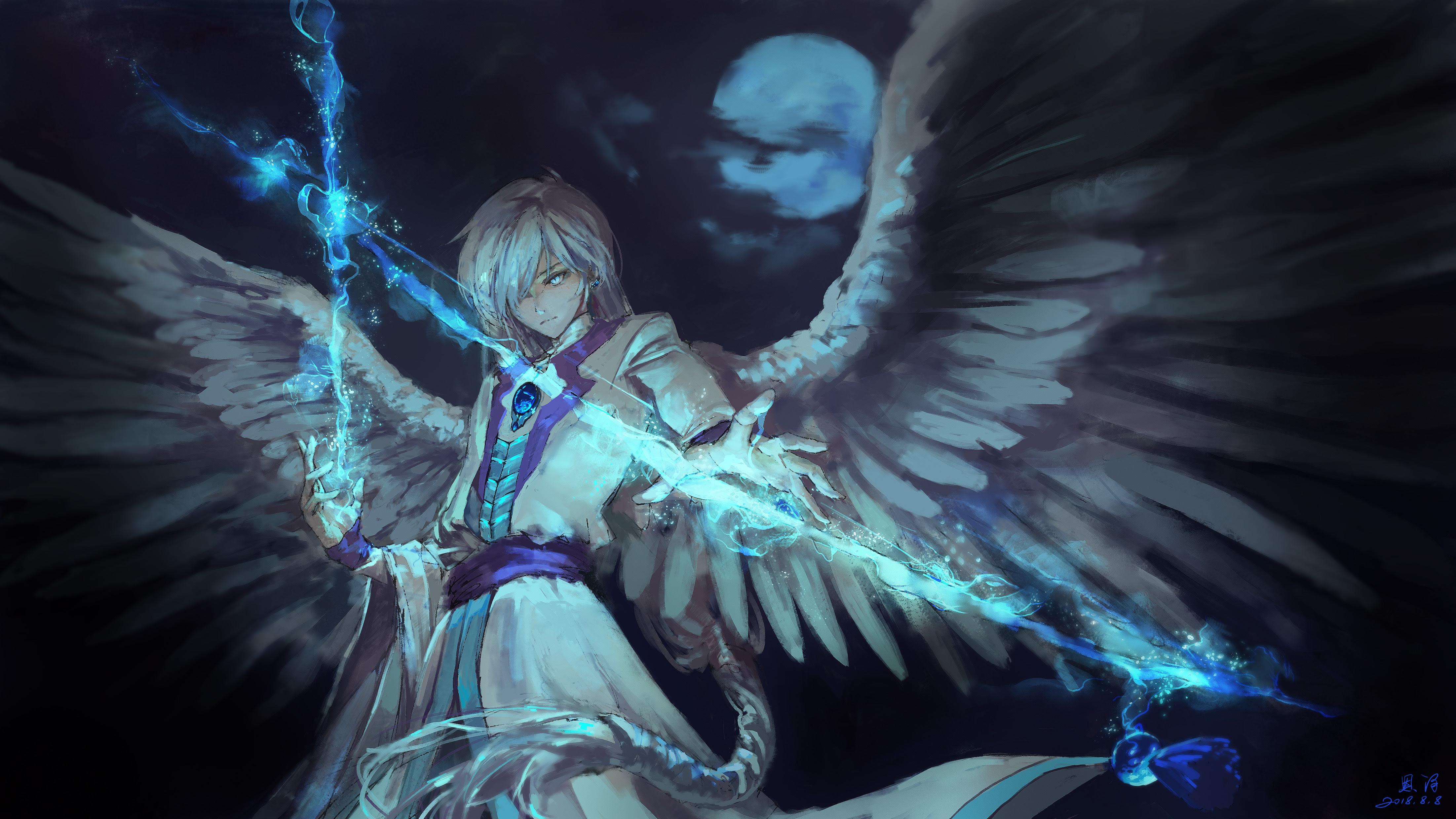 Anime Angel Boy With Magical Arrow, HD Anime, 4k ...