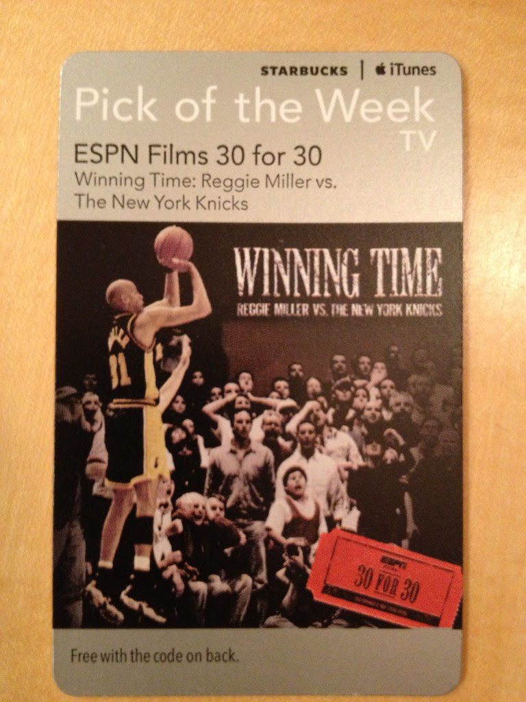 Starbucks iTunes Pick of the Week - ESPN Films 30 for 30 [TV]