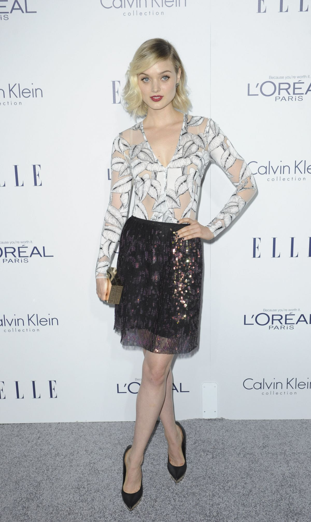 BELLA HEATHCOTE at 2015 Elle Women in Hollywood Awards in Los Angeles 10/19/2015