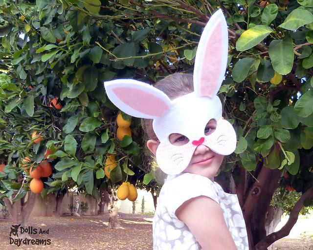 DIY Bunny Rabbit Mask