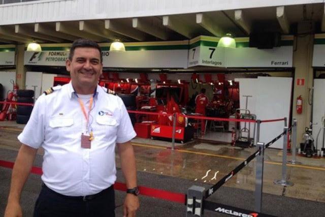 Le pilote d'hélicoptèreJorge Eurico da Silva Faria a... (Photo : Facebook, via Grande Prêmio)