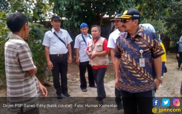 Genjot Panen Petani Lebak, Ditjen PSP Kementan Agresif Bangun Embung - JPNN.COM