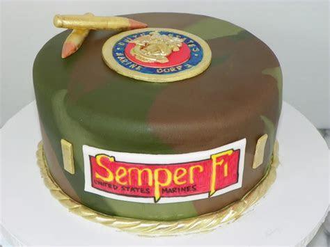 Plumeria Cake Studio: USMC Camouflage Cake