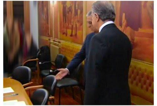 Ricardo Salgado na Comissão da AR