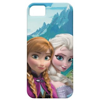 Anna and Elsa Cover For iPhone 5/5S