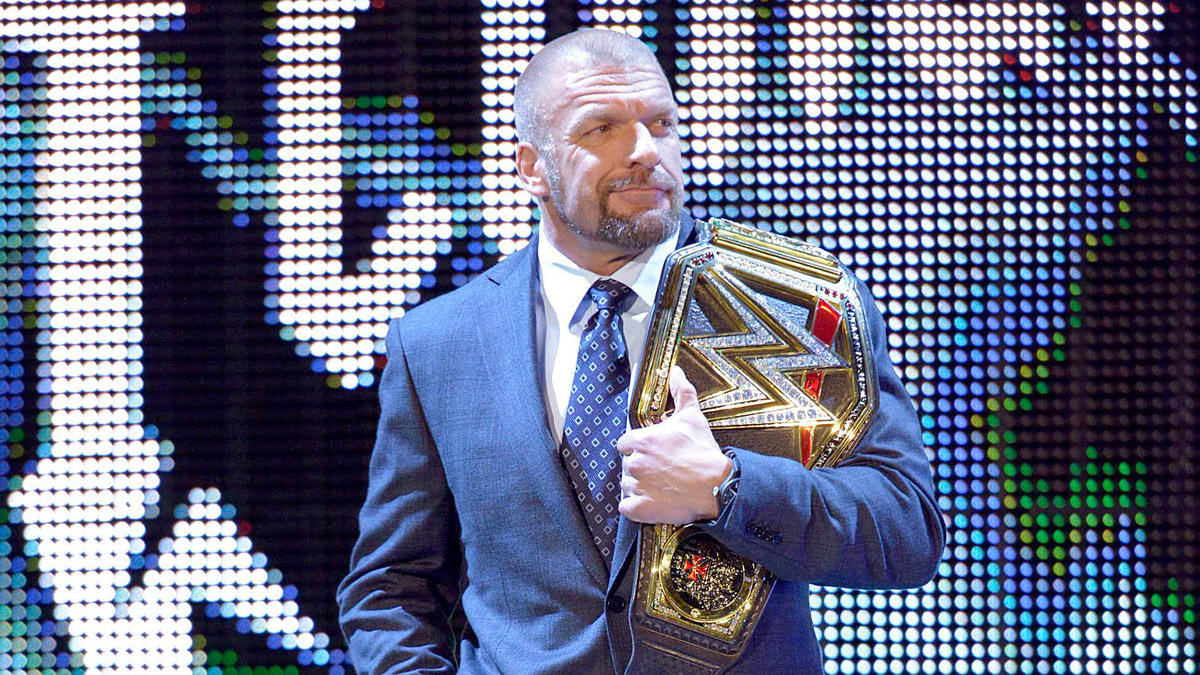 Just days after brutally attacking Roman Reigns, WWE World Heavyweight Champion Triple H kicks off SmackDown.