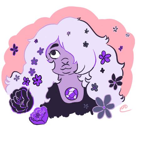 Pretty Purple Rocket