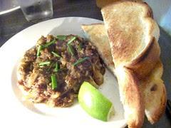 Black Pepper Crab Toast