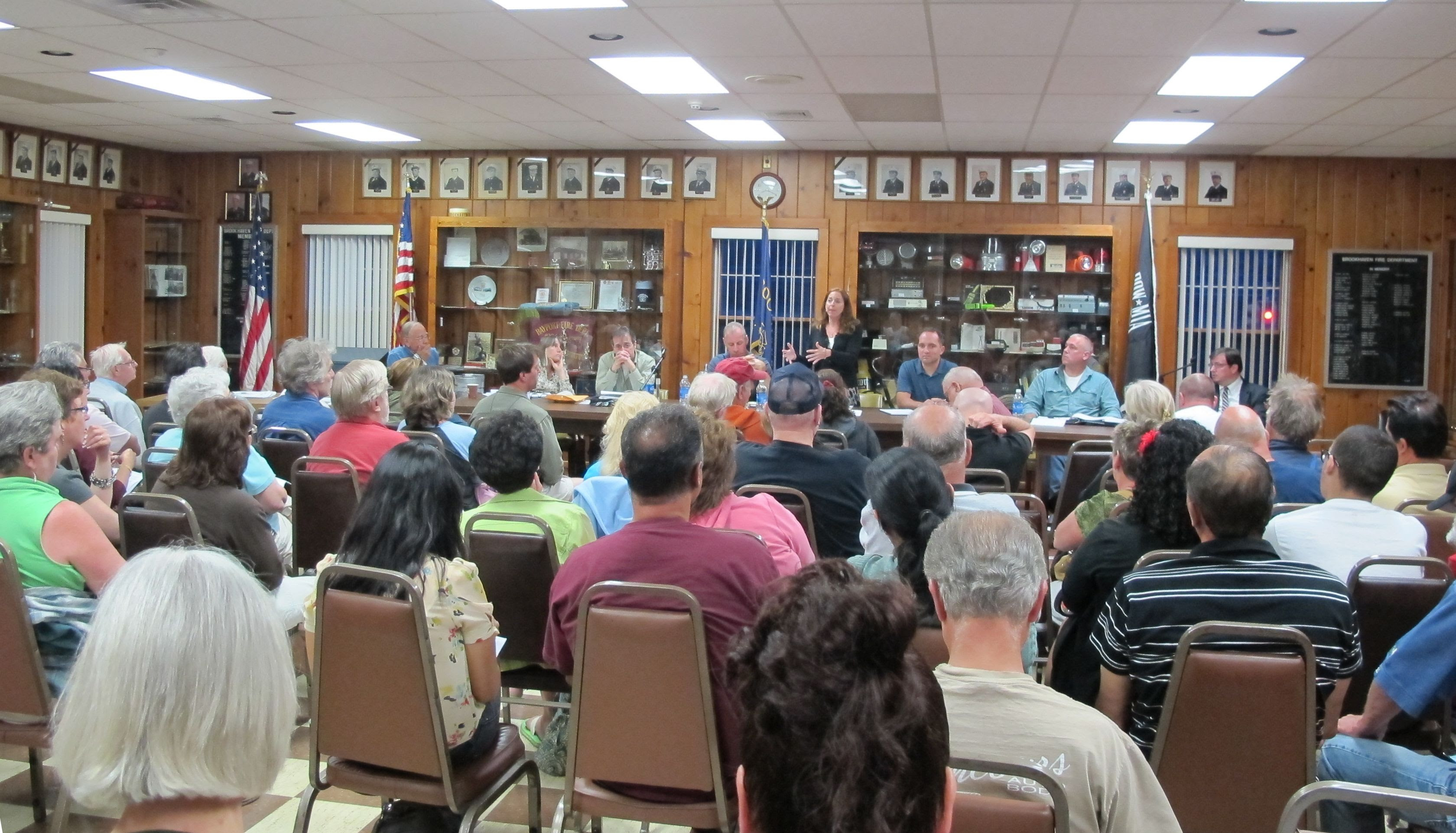 BCC Board meets with Community