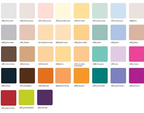 C mo decorar la casa gama de colores de pintura para paredes - Gama de colores para pintar ...
